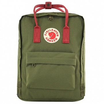 фото Рюкзак Fjallraven Kanken Classic 23510 Forest Green/Ox Red
